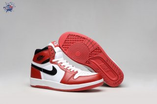 "Meilleures Air Jordan 1.5 ""Chicago"" Rouge Blanc"
