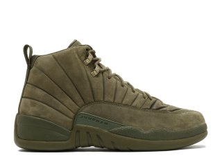 "Meilleures Air Jordan 12 Retro ""Psny (F & F Sample)"" Olive (bom745229)"