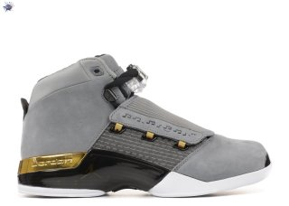 "Meilleures Air Jordan 17 Retro Trophy Rm ""Trophy Room"" Gris Or (ah7963-023)"