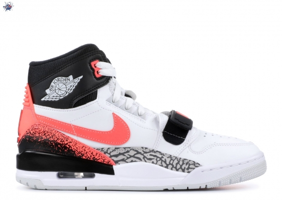 "Meilleures Air Jordan Legacy 312 Nrg ""Hot Lava"" Blanc Noir Orange (aq4160-108)"