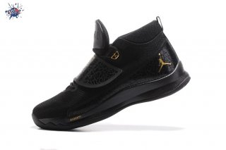 Meilleures Air Jordan Super.Fly 5 Po Noir Or