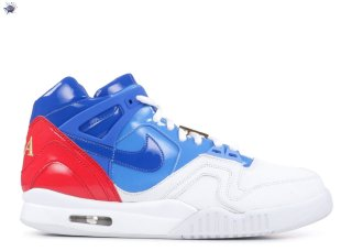 "Meilleures Air Tech Challenge 2 Sp ""Us Open"" Blanc Rouge Bleu"