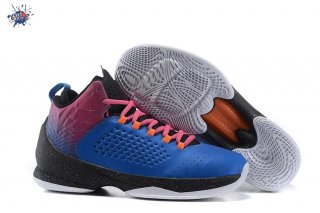 "Meilleures Jordan Melo M11 ""Red Hook Sunset"" Bleu Rouge"