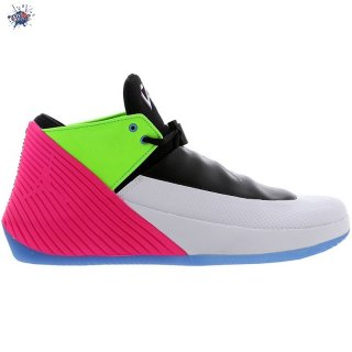 Meilleures Jordan Why Not Zer0.1 Low Quai54 (2018) Noir Gris Vert Rose (at9190-100)