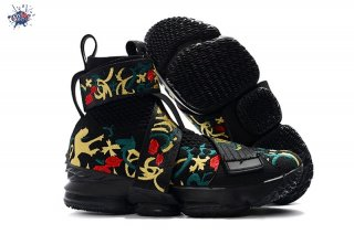 "Meilleures Kith X Nike Lebron XV 15 Strap ""Long Live The King"" Noir Floral"