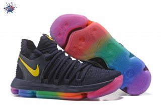 "Meilleures Nike KD X 10 ""Be True"" Noir Multicolore"