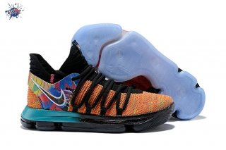 "Meilleures Nike KD X 10 ""What The"" Multicolore"