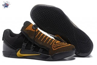 Meilleures Nike Kobe A.D. Nxt Noir Or Orange