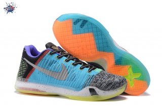 "Meilleures Nike Kobe X 10 Elite Low ""What The"" Multicolore"