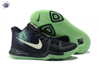 "Meilleures Nike Kyrie Irving III 3 ""Fear"" Black Green"