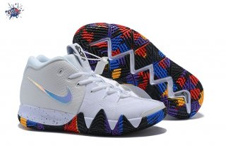 "Meilleures Nike Kyrie Irving IV 4 Ncaa ""March Madnes"" Blanc Multicolore"
