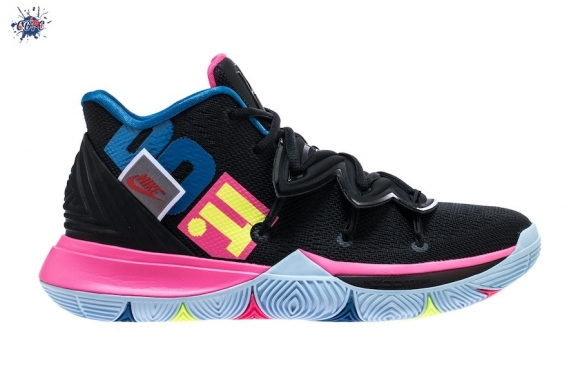 "Meilleures Nike Kyrie V 5 ""Just Do It"" Noir Rose Bleu (ao2918-003)"