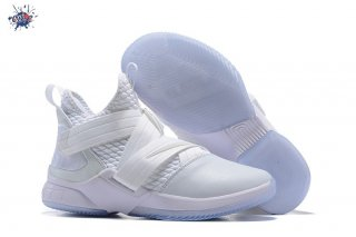 Meilleures Nike Lebron Soldier XII 12 Blanc