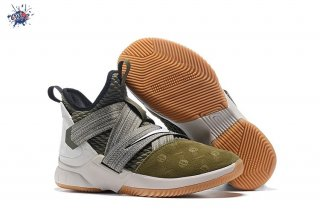 "Meilleures Nike Lebron Soldier XII 12 ""Land And Sea"" Olive Vert"