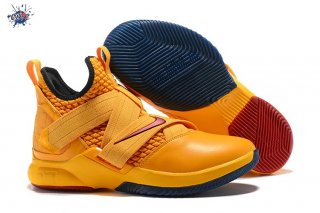 Meilleures Nike Lebron Soldier XII 12 Orange Rouge