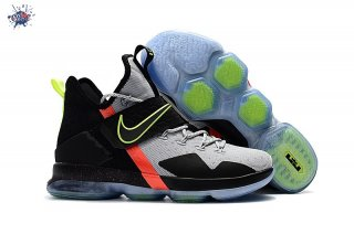 Meilleures Nike Lebron XIV 14 Blackgrey Volt Red