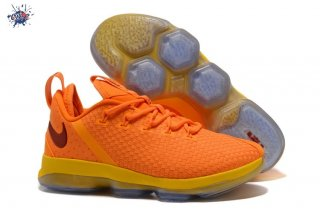 Meilleures Nike Lebron XIV 14 Low Orange