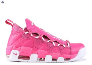 "Meilleures Sneaker Room X Air More Money Qs ""Breast Cancer Awareness"" Rose Blanc (aj7383-600)"