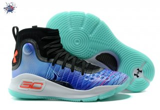 "Meilleures Under Armour Curry 4 ""China Exclusive"" Bleu"