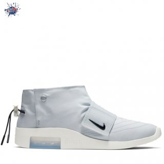 Meilleures Nike Air Fear Of God Moc Pure Platinum Blanc (AT8086-001)