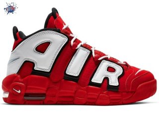 Meilleures Nike Air More Uptempo (GS) Rouge Noir Bianco (CD9402-600)
