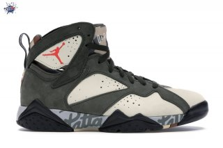 "Meilleures Air Jordan 7 Retro ""Patta Icicle"" Olive (AT3375-100)"