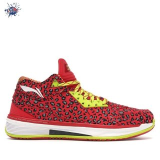 "Meilleures Li Ning Way Of Wade 2 ""Rouge Leopard"" Rouge (ABAH017-14)"