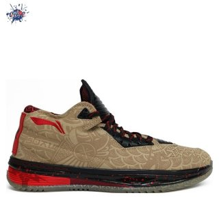 "Meilleures Li Ning Way Of Wade 2 ""Year Of The Horse"" Jaune (ABAH017-11)"