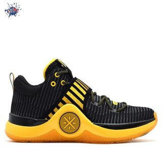 "Meilleures Li Ning Way Of Wade 6 ""Caution"" Noir Jaune (ABAM089-85)"