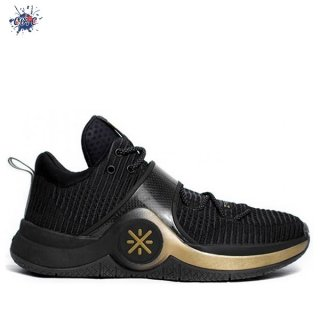 "Meilleures Li Ning Way Of Wade 6 ""First Born"" Noir (ABAM089-74)"
