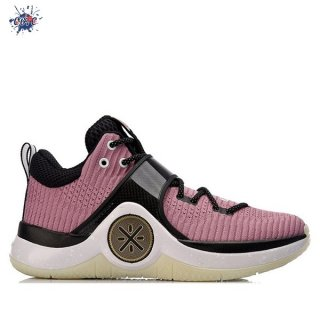 "Meilleures Li Ning Way Of Wade 6 ""Size Old Rose"" Rose (ABAM089-82)"