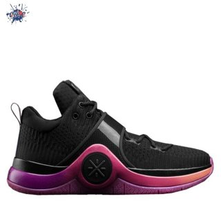 "Meilleures Li Ning Way Of Wade 6 ""Sunrise"" Noir Rose (ABAM089-76)"