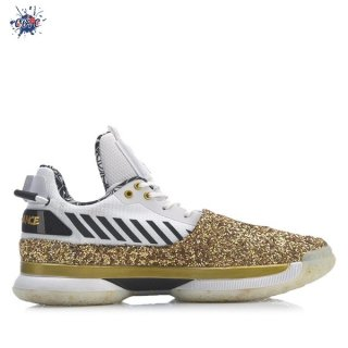 "Meilleures Li Ning Way Of Wade 7 ""One Last Dance Away"" Blanc Or (ABAN079-37)"