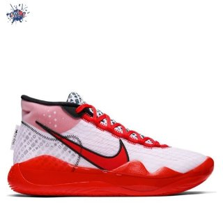"Meilleures Nike KD XII 12 ""Youtube"" Rouge Blanc (CQ7731-900)"