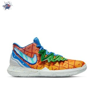 "Meilleures Nike Kyrie Irving V 5 (GS) ""Spongebob Pineapple House"" Orange (CJ7227-800)"