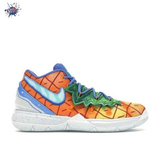 "Meilleures Nike Kyrie Irving V 5 (PS) ""Spongebob Pineapple House"" Orange (CN4501-800)"