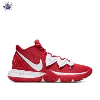 Meilleures Nike Kyrie Irving V 5 Team Rouge Blanc (CN9519-600)