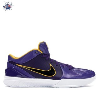 "Meilleures Nike Zoom Kobe IV 4 Protro Undefeated ""Los Angeles Lakers"" Pourpre (CQ3869-500)"