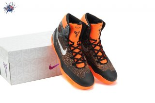 Meilleures Nike Zoom Kobe 9 Elite Noir Orange