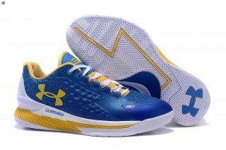 Meilleures Under Armour Curry 1 Bleu Jaune