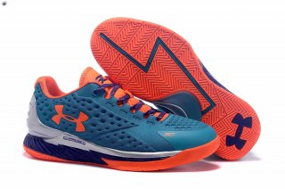 Meilleures Under Armour Curry 1 Bleu Orange