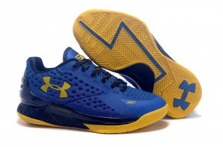 Meilleures Under Armour Curry 1 Jaune Bleu