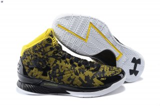 Meilleures Under Armour Curry 1 Jaune