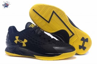Meilleures Under Armour Curry 1 Noir Jaune