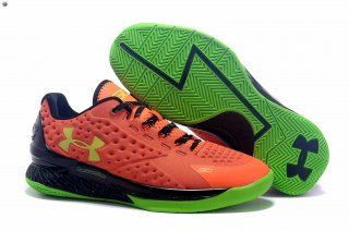 Meilleures Under Armour Curry 1 Orange Vert